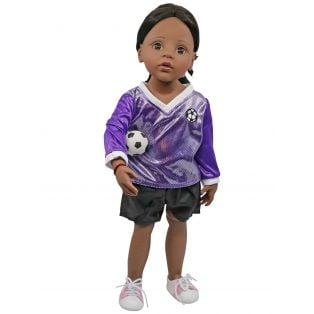 Sophia's Football Strip & Ball 45-50cm