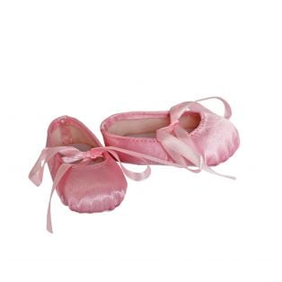 Hard Toe Ballet Shoes 46cm in Pink