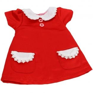 My Doll Best Friend Playful Red Dress 40-52cm