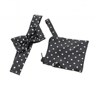 My Doll Best Friend Polka Dot Purse & Hairband 45-52cm