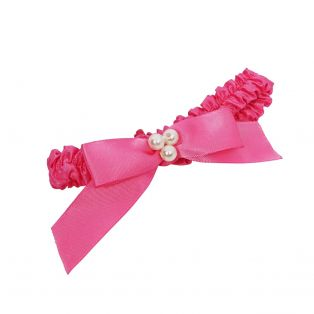 My Doll Best Friend Pink With Pearls Doll Hairband 38-50cm alternate image