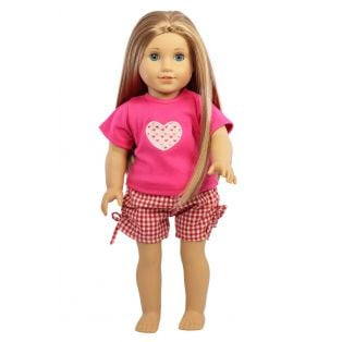My Doll Best Friend Lots Of Love PJs size 40-52cm alternate image