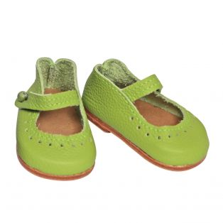 Wagner Doll Shoes Group 4 Style Louisa - GREEN