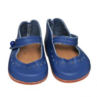 Wagner Doll Shoes Group 4 Style Louisa - FRENCH BLUE