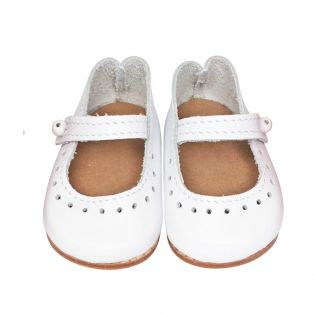 Wagner Doll Shoes Group 4 Style Louisa - WHITE