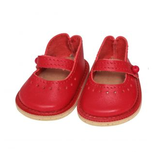 Wagner Doll Shoes Group 3 Style Charlotte - RED