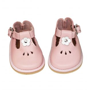 Wagner Doll Shoes Group 4 Style Tiny Blossom - PALE PINK