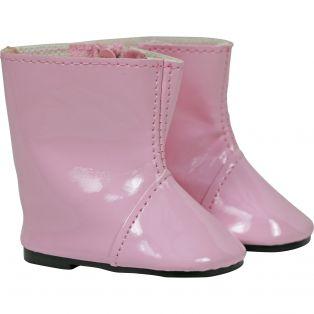Sophia's Shiny Rain Boots (Pink)