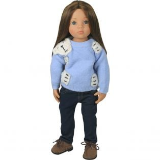 Bear Hug Sweater (Blue)