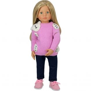 Bear Hug Sweater (Pink)