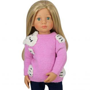 Bear Hug Sweater (Pink) alternate image