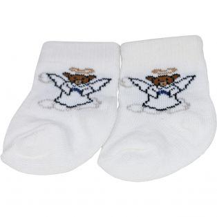 Socks -  Teddy Bear Angel Design