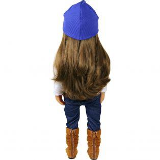 Sophia's Blue Hat With Sparkle alternate image