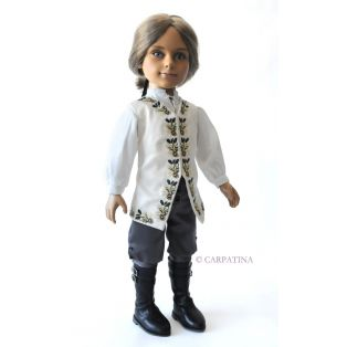 Carpatina James William Boy Doll