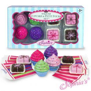Sophia's Cupcake & Petits Fours Set