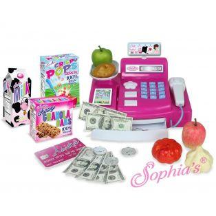 Sophia's Doll Size 21 Piece Cash Register Pay Set