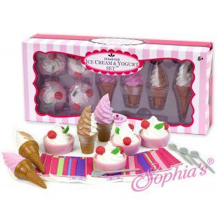 Sophia's Sundae Dishes And Ice Cream Set