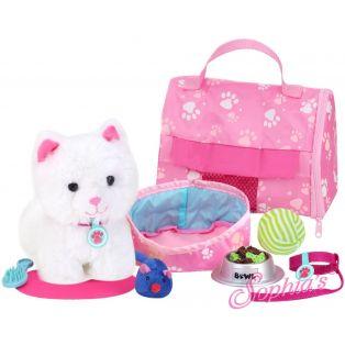 Sophia's 8 Piece Plush Kitten and Carrier Set