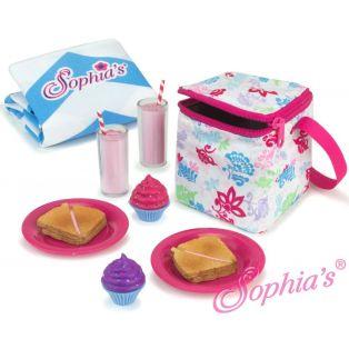Sophia's Doll Size Picnic Lunch Set
