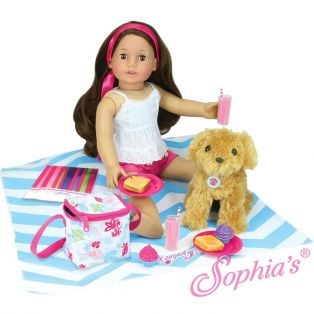Sophia's Doll Size Picnic Lunch Set alternate image