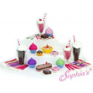Sophia's 28 Piece Desserts & Soda Drinks Set alternate image