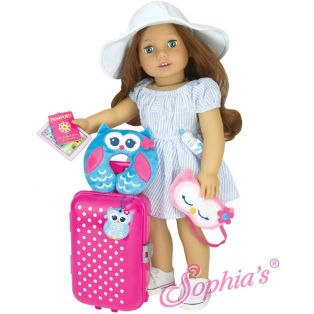 Sophia's Doll Travel & Play Set