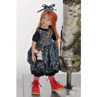 Zwergnase Art Doll 2015, Jolien Limited Edition 75, 45cm alternate image