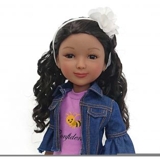 Ruby Red Galleria Fashion Friends Be Confident Kayla Doll 36cm alternate image