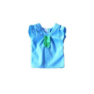 Sophia's Light blue ruffle t-shirt