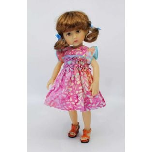 BONEKA Monday's Child BROWN EYES Lizzie 25cm Doll alternate image