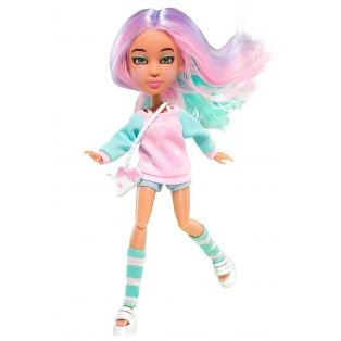 SnapStar Fashion Action Multi-Jointed App Doll LOLA With Green Screen, 25cm