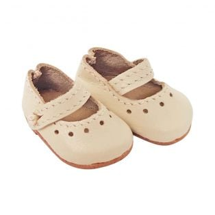 Wagner Doll Shoes Group C Style Louisa - CREAM