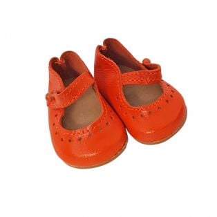 Wagner Doll Shoes Group 4 Style Louisa - ORANGE