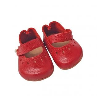 Wagner Doll Shoes Group C Style Louisa - RED