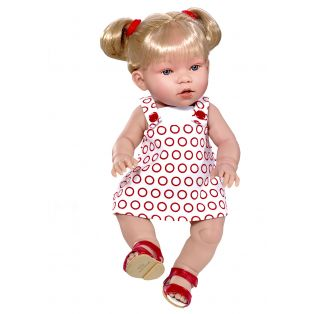 Vestida de Azul Anatomically Correct Baby Doll Luna 38cm Vinyl Body