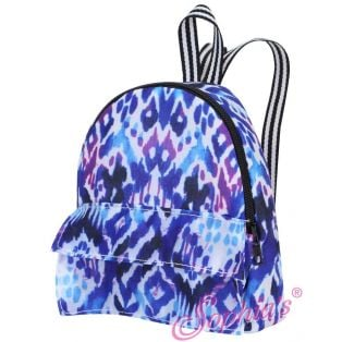 Sophia's Doll Size Ikat Print Backpack
