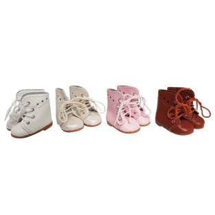 Wagner Doll Shoes Group B Style Meg Boots - WHITE alternate image