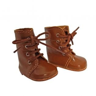 Wagner Doll Shoes Group 1 Style Meg Boots - OAK