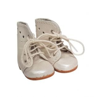 Wagner Doll Shoes Group B Style Meg Boots - OYSTER