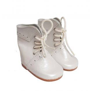 Wagner Doll Shoes Group 4 Style Meg Boots - OYSTER