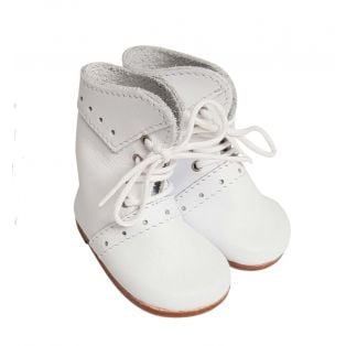 Wagner Doll Shoes Group 4 Style Meg Boots - WHITE