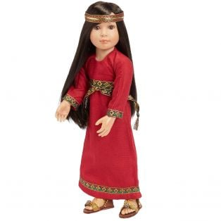 Jewel Fun In Faith Doll Hadassah Esther (46cm) JEWISH