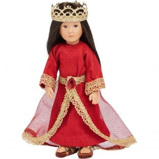 Fun In Faith Doll Esther (21cm) JEWISH