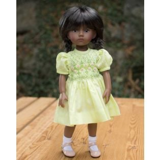 BONEKA Monday's Child DARK TAN Nalini 25cm Doll