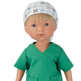 Frontline Workers Surgeon Boy Doll Nylo, 28cm  alternate image