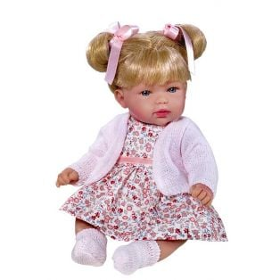 Vestida de Azul Baby Doll Olivia Soft Body With Bunches 28cm