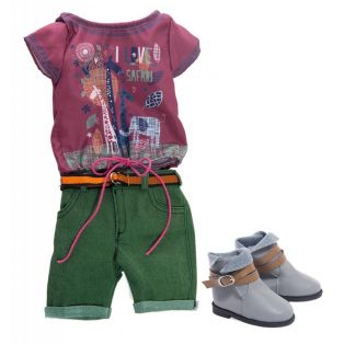 Kidz 'n' Cats Nora Outfit, 45-50cm