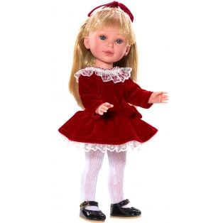 Vestida de Azul Paulina Red Velvet CLOTHES SET 33cm