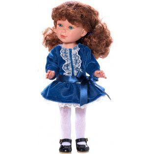 Vestida de Azul Paulina Blue Velvet CLOTHES SET 33cm