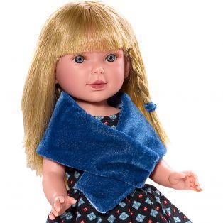 Vestida de Azul Paulina 33cm Blonde Doll In Black Dress alternate image